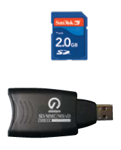 SD Flash card or USB Programmer device